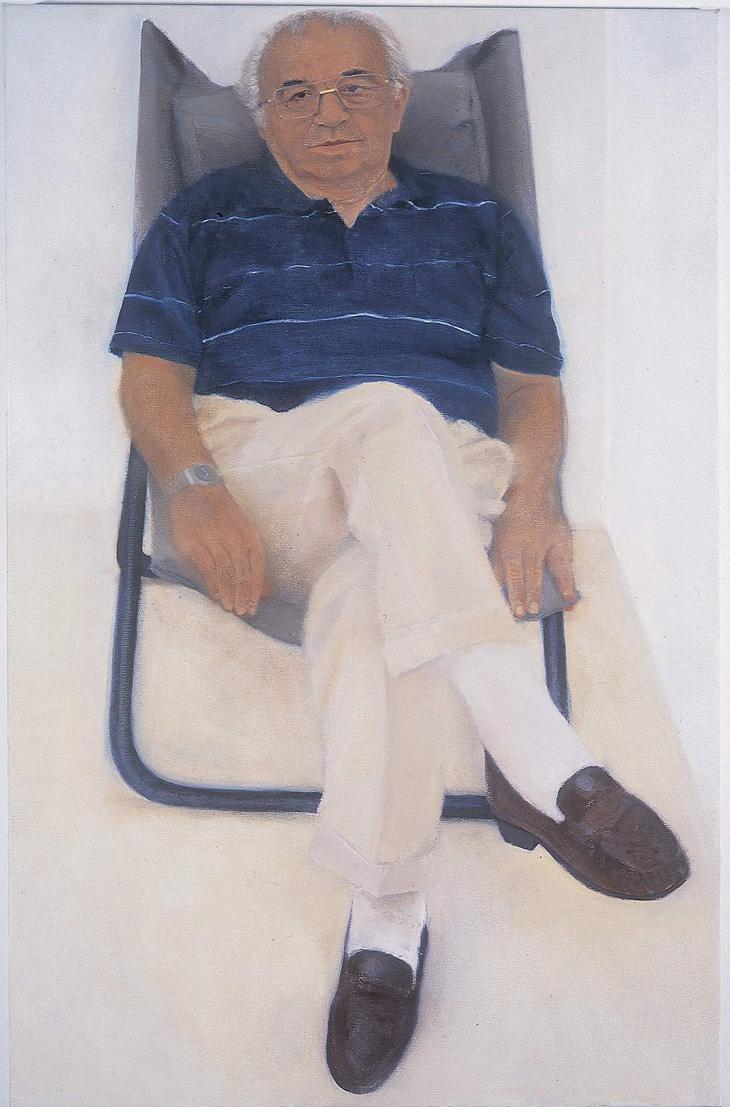 """דוד, 2002, שמן על בד, 100/65 ס""""מ"""