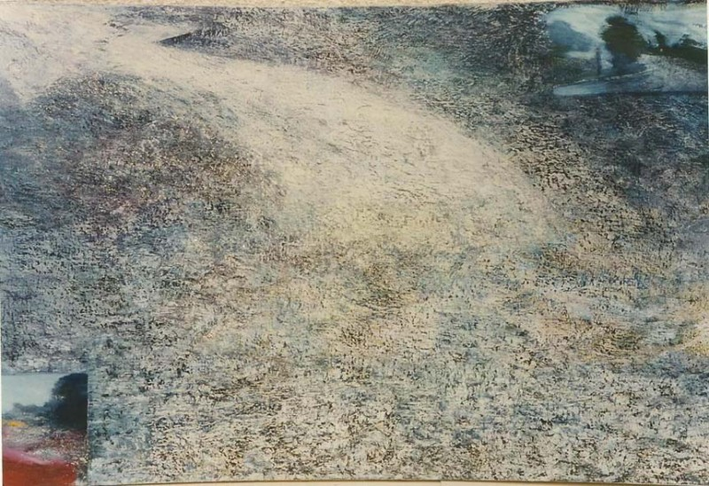Untitled, 1990, oil on canvas, 51 X 75 cm