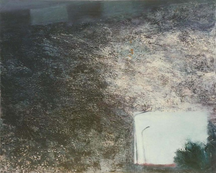Untitled, 1990, oil on canvas, 71 X 89 cm