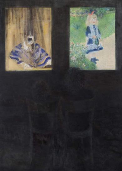 Ruth_K_Ben-Dov_Art_History_Lesson_Bacon_and_Renoir