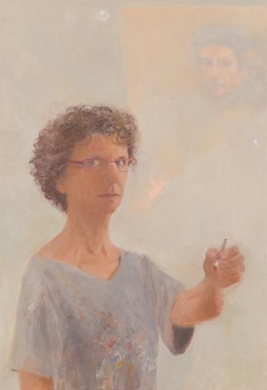 Ruth_K_Ben-Dov_Art_History_Lesson_after_Rembrandt