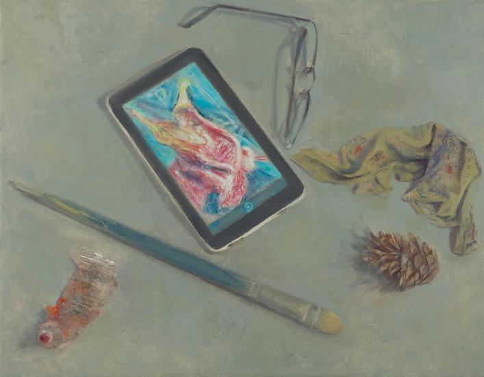 Ruth_K_Ben-Dov_Art_History_Lesson_after_Soutine