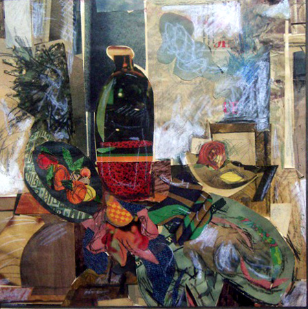 Sidon Rothenberg collage