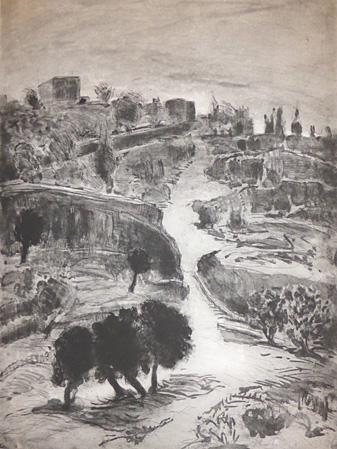 Sidon Rothenberg etching